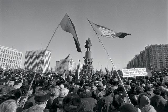 митинг оппозиции март 1996