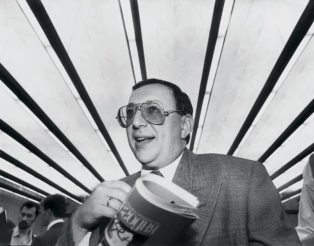 олигарх Владимир Гусинский 1995