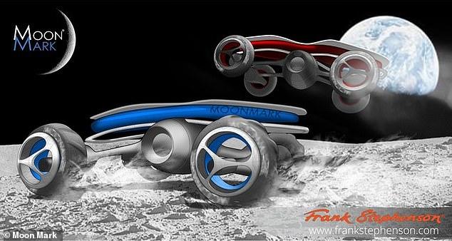 Умовні зображення майбутніх гоночних місяцеходів... місяцебігів?