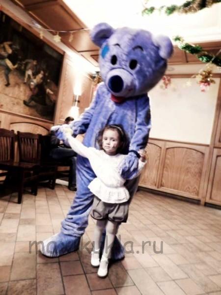 Ростовая кукла Голубой медведь