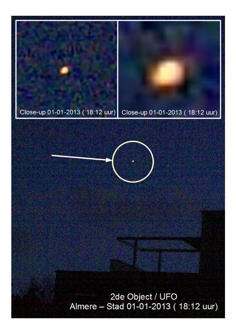 2a 2de Object met Aanwijzingen boven Almere 01-01-2013