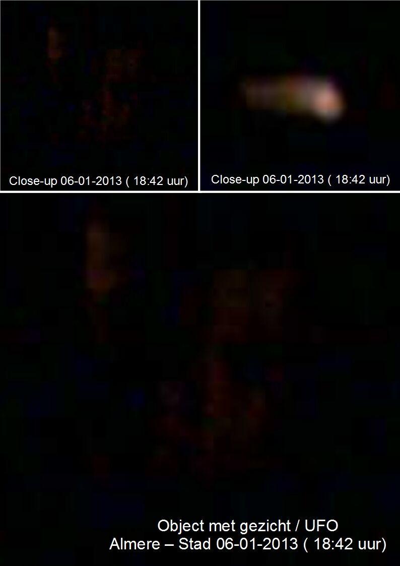 3a Almere-Stad 06-01-2013 Vergroot Object UFO met gezicht 2