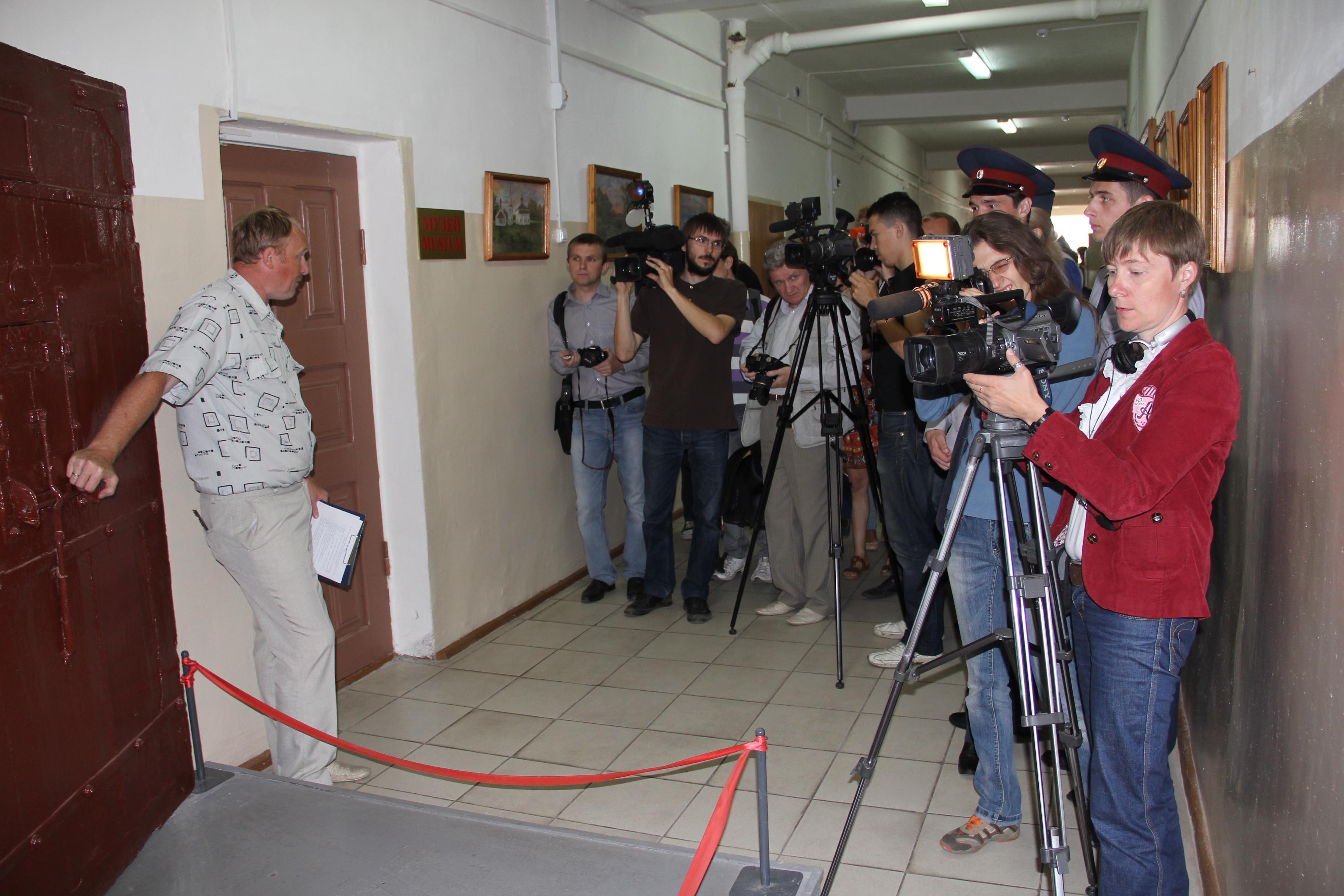 Начало экспозиции музея Владимирского ценрала