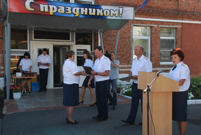 Юбилей ИК-1 Вручение наград начальником УФСИН