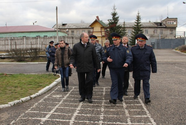 Визит Главного федерального инспектора Сергея Рыбакова в ИК-2