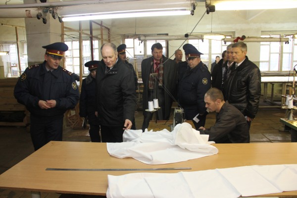 Визит Главного федерального инспектора в ИК-2 Швейный участок