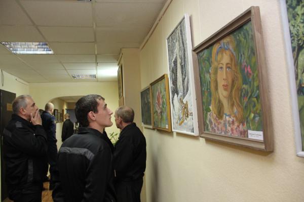 Выставка художника Владимира Калошина в ИК-5_4