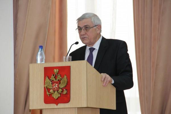 Коллегия УФСИН выступление губернатора