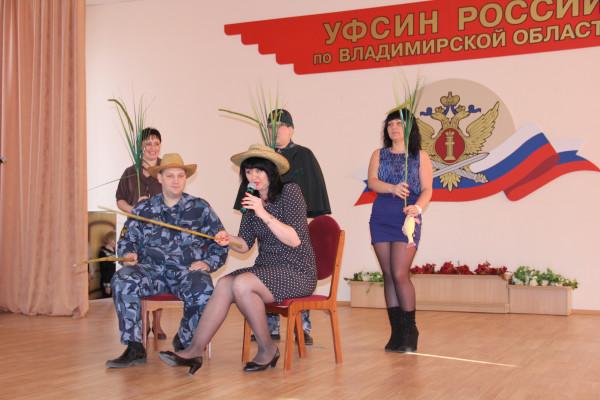 Выступление артистов ИК-6