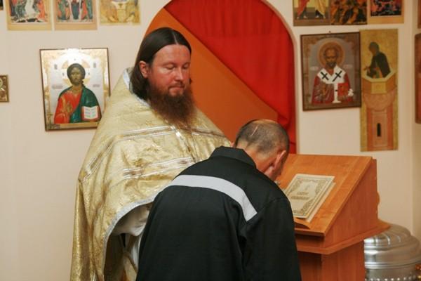 Божественная литургия в ИК-1_1