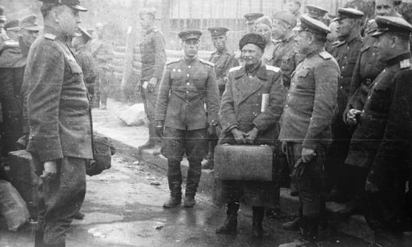 Выдача Шкуро 1945