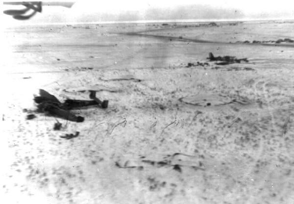 Тацинская 26.12.42 (снимок с самолета)