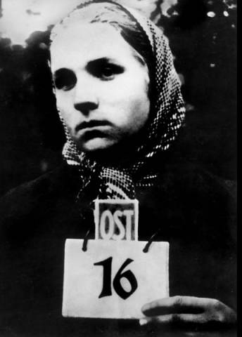 1942 Эссен 17-л девушка с Украины
