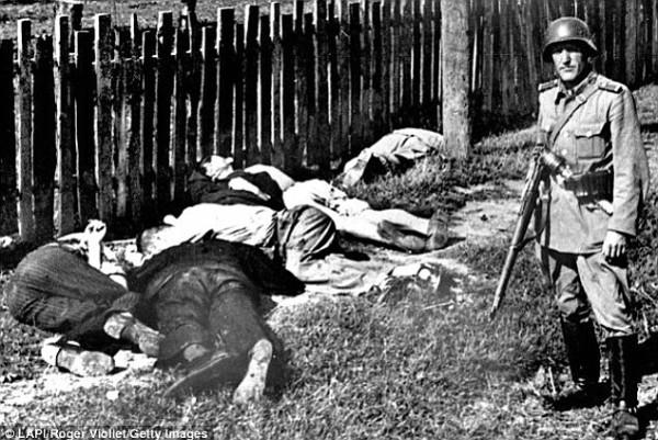 Немец и расстрелянные