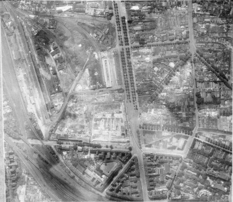 Cologne after British 1000 planes raid -2