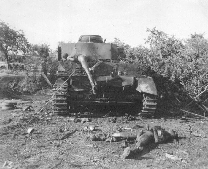Танковая война. Сгоревшие заживо. Burnt Germans, Falise Gap, France