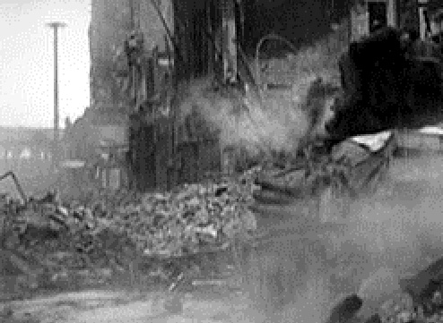 Кельн -45 Танк Келлера попадание снаряда