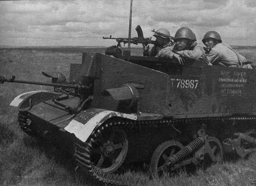 Солдаты ВОВ №76 - Красноармеец-бронебойщик роты ПТР стрелкового полка, 1941–1943 гг.
