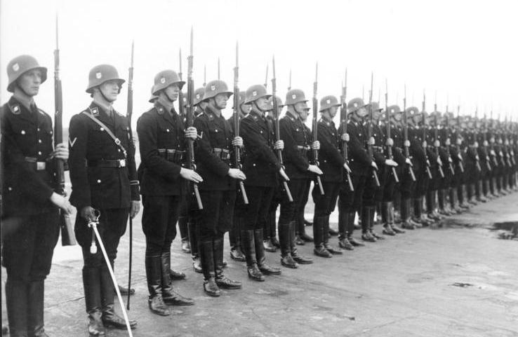 Лейбштандарт  парад 1936