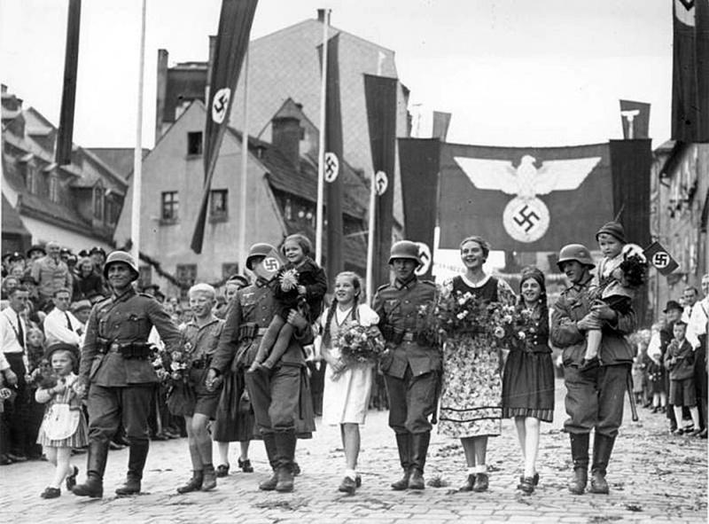Судетские немцы.г.Аш 1938
