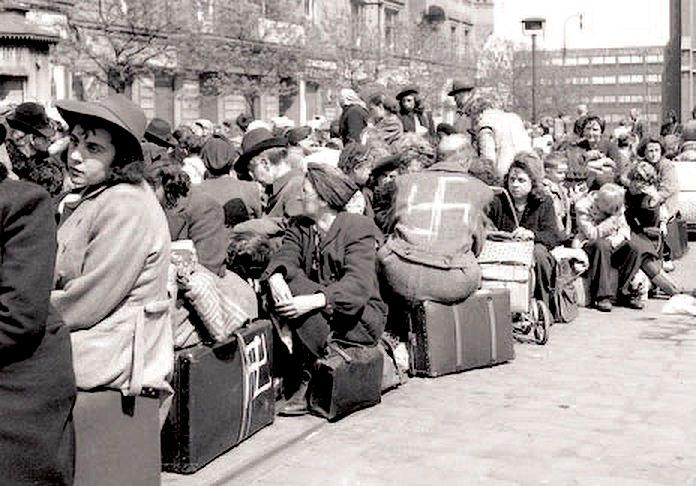Судетские немцы. Депортация.1945r