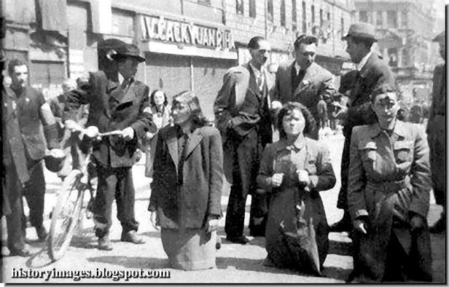 Судеты. Немцы 1945 - избиение и битое стекло