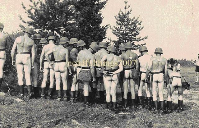 Порно для солдат вермахта