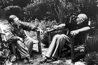 gide et Sartre 1950