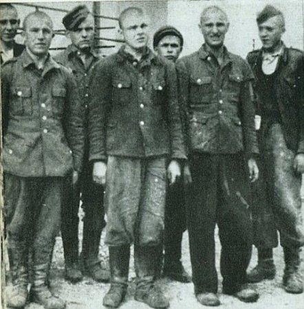 пленные бандеровцы (в Чехословакии)