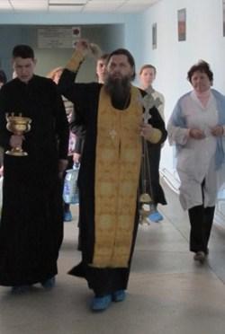 Владивосток. 19 января 2012 года, в день Святого Богоявления и Крещения Господня,