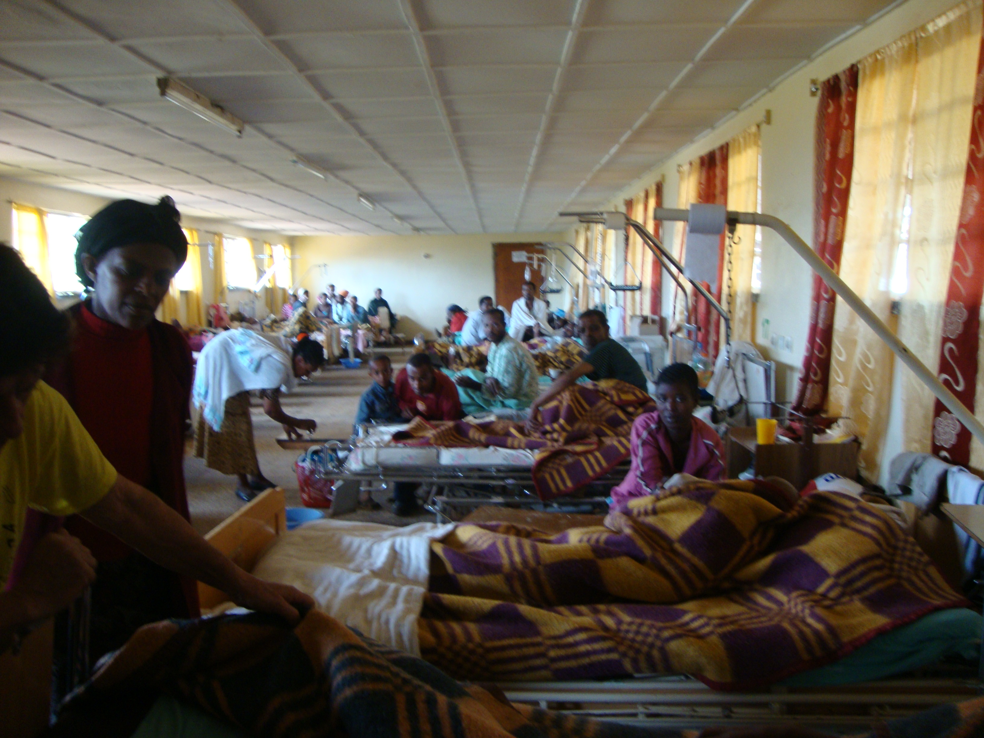 Hospital, Southern Omo Valley Ethiopia, December 2012