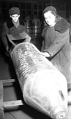Бомба - новогодний подарок Гитлеру