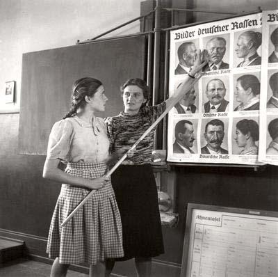 Германия 1943 урок расовой теории в школе