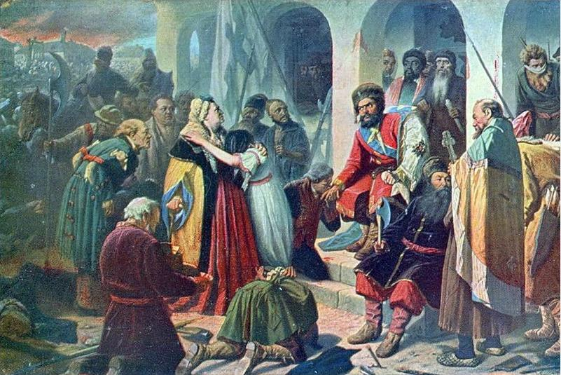 Перов Василий. Суд Пугачева. 1879