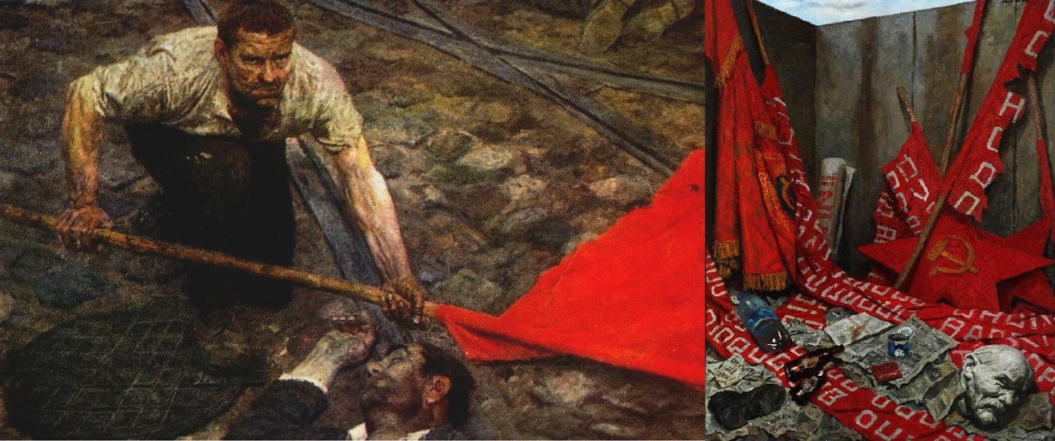 Г. Коржев. 2 картины