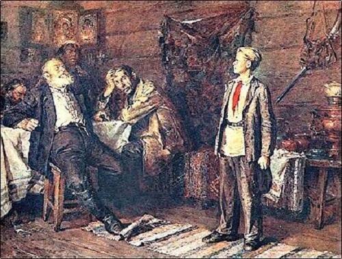Н.Чебатков. Павлик Морозов.1959