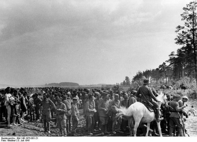 Минск лагерь пленных в Дроздах 5.07.1941