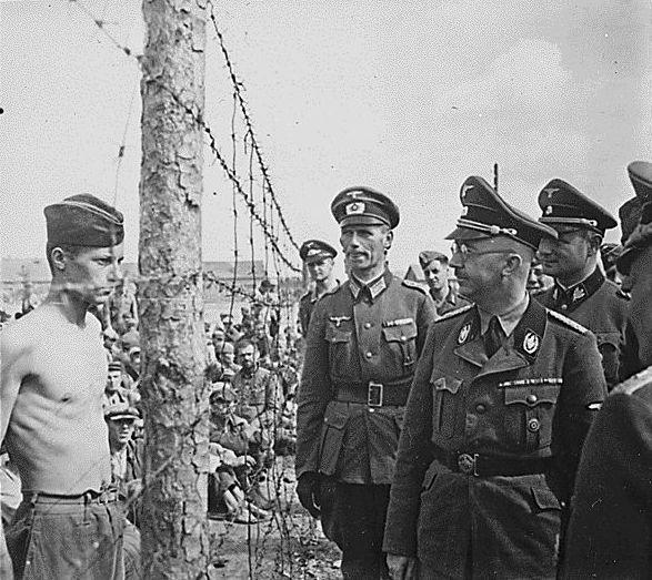Гиммлер в Минске  август 1941