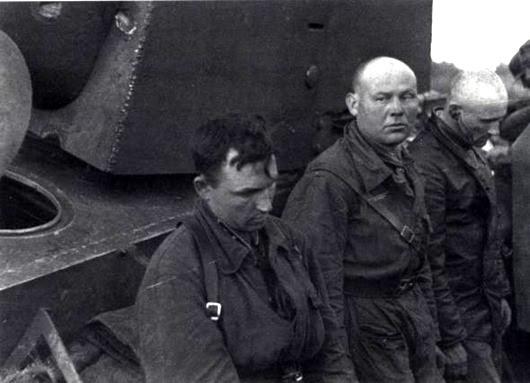 июнь 41 пленные из 2 тд 3 мк р-н г.Рассейняй (Литва)