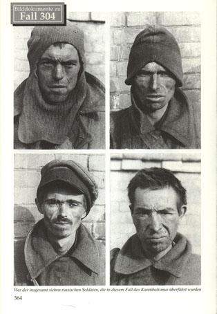 Stalag 305, Camp 2, in Novo Ukraina-Adabasch, ноябрь 41 каннибализм 3