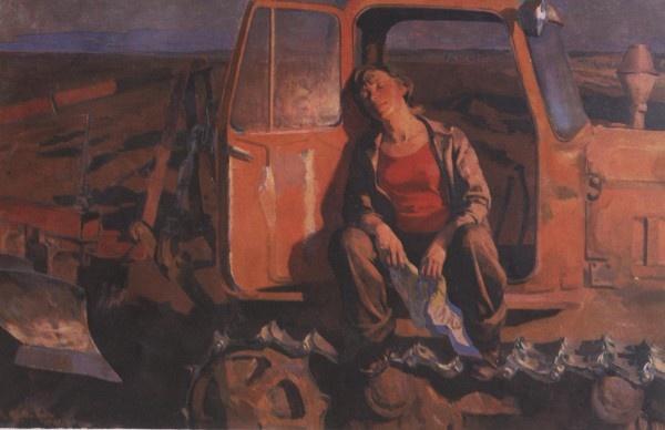 Кутилин Владимир. Первое поле.1981