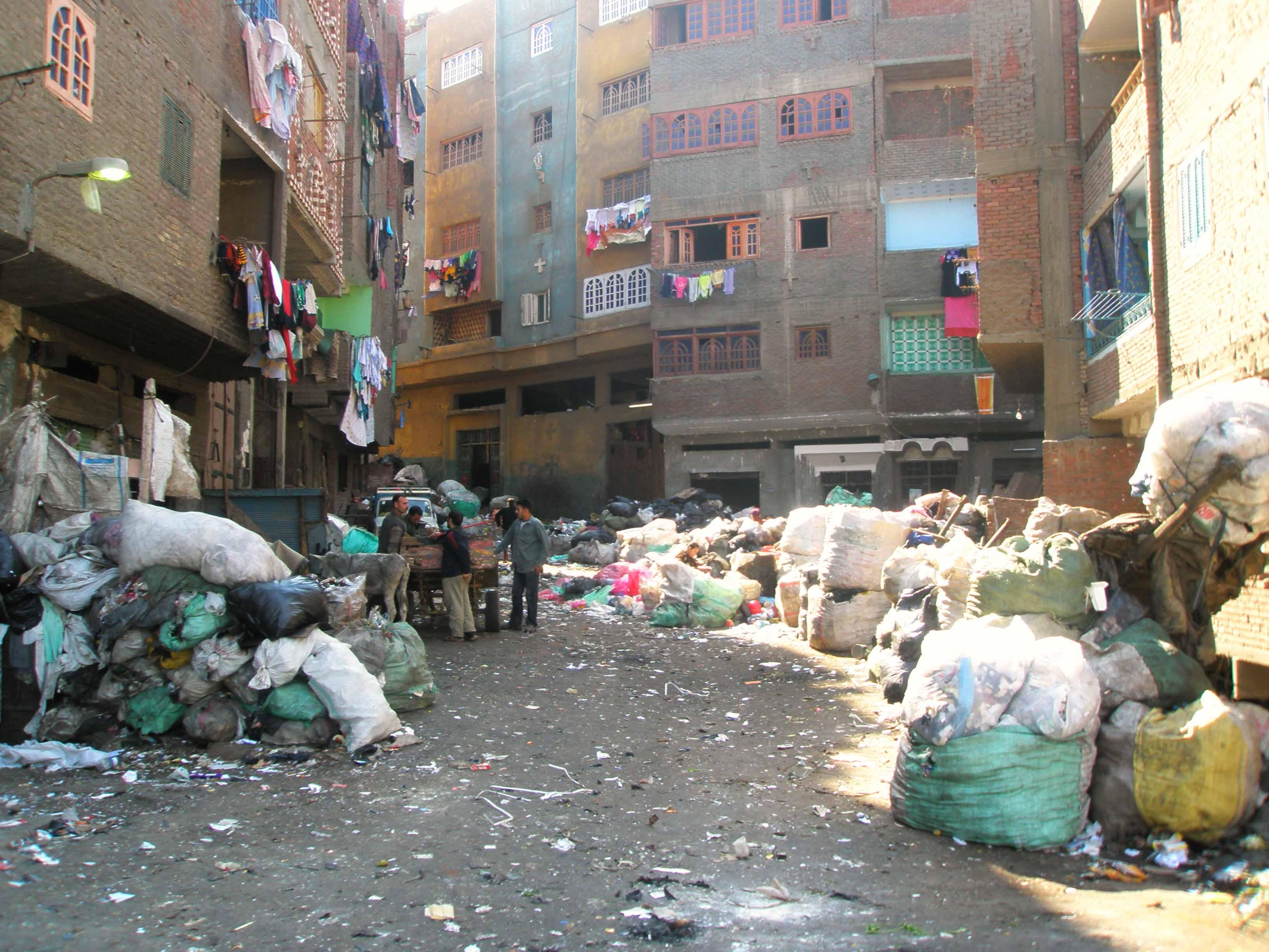 Каир трущобы