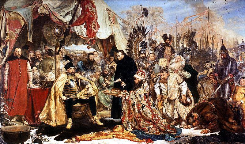 Jan_Matejko-Batory_pod_Pskowem 1872