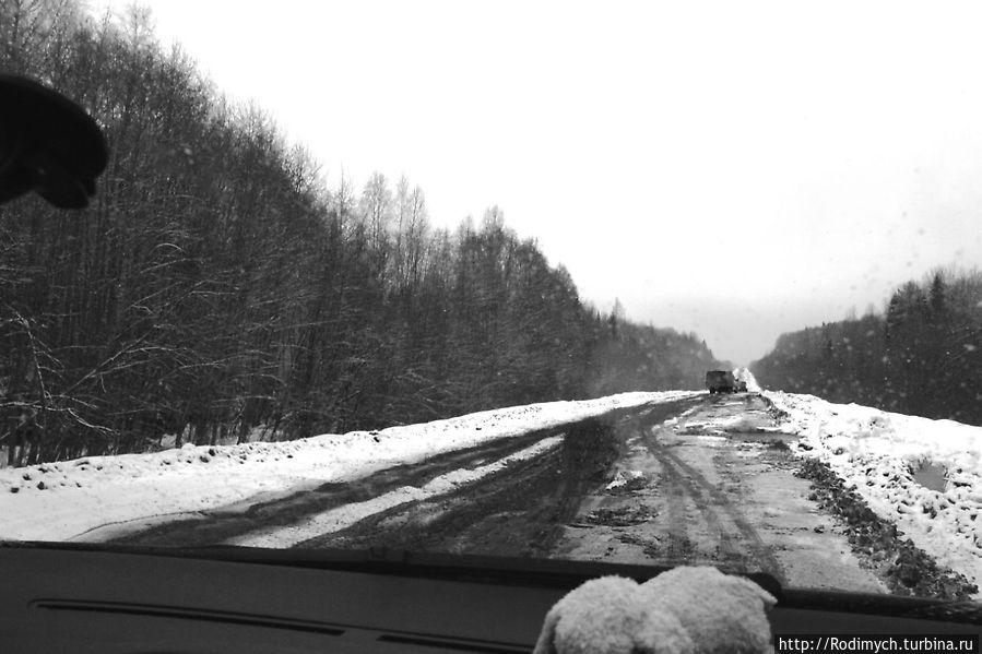 Дорога Н.Новгород - В. Устюг 2012 2