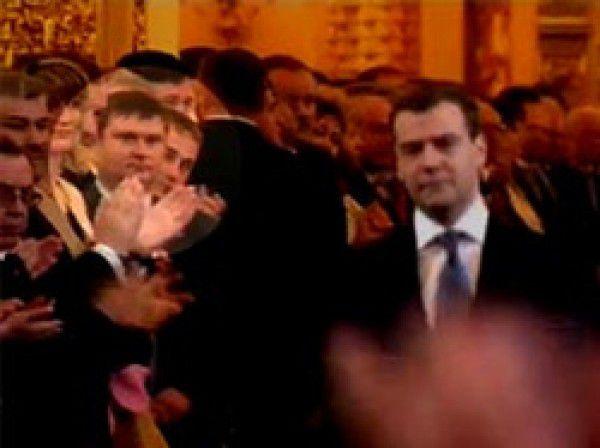 Цапок - инаугурация Медведева