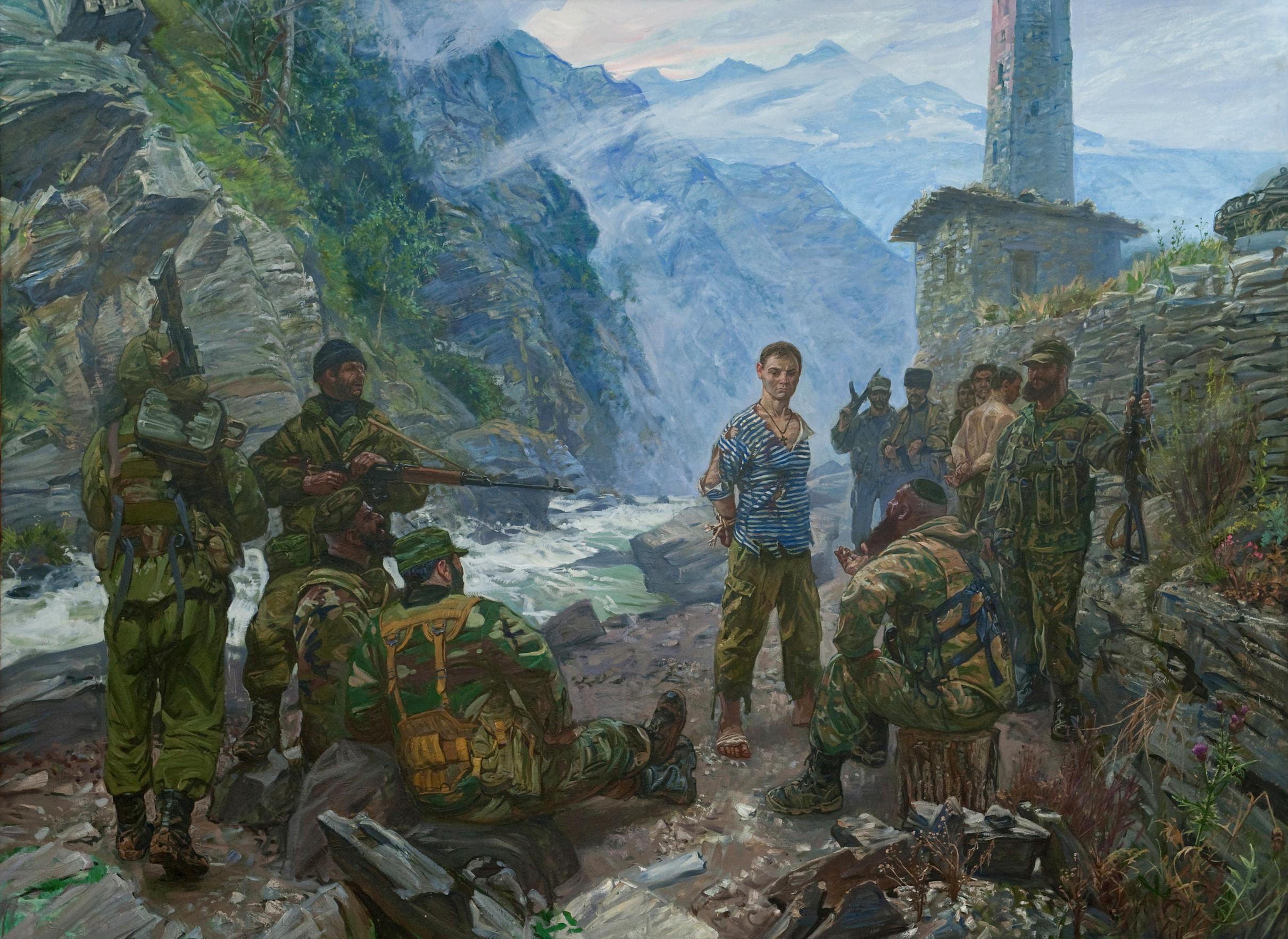 Максим Фаюстов.Воин-мученик Евгений Родионов. 2008