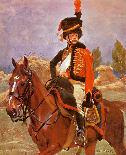 Войцех Коссак. Гусар Великой Армии. 1907