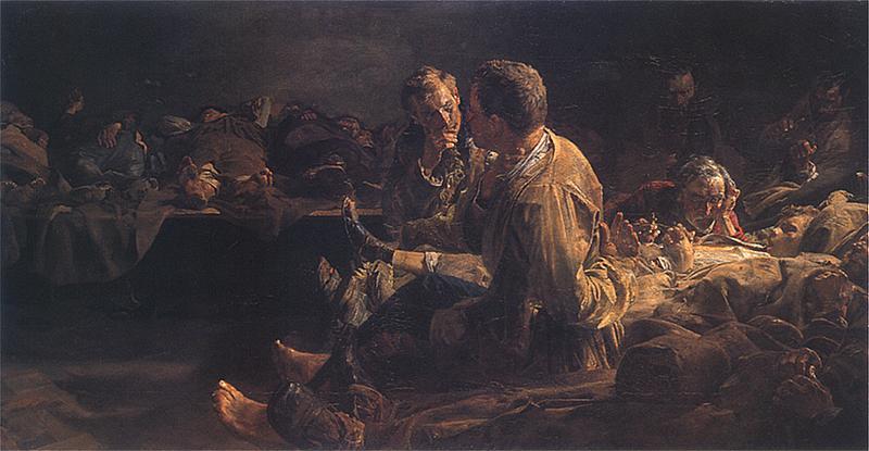 Jacek Malczewski. Śmierć na etapie. 1891