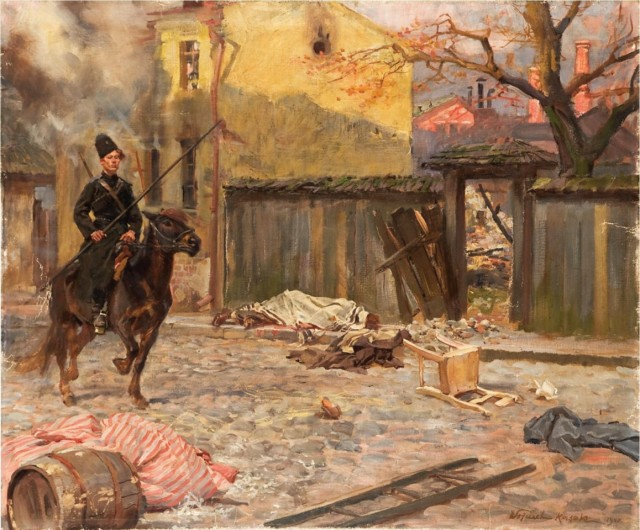 Войцех Коссак. Погром 1907