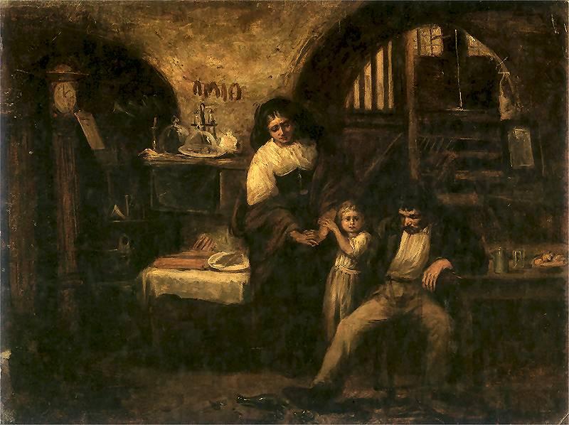 Aleksander Kotsis. W szynku. Ok. 1870.
